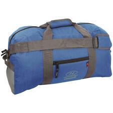 Highlander Cargo 45 Bolsa Cámping Muletón Paquete Viajar Hombro Bolso Azul