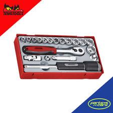 TT3819 - Teng Tools - 16 Piece 3/8 Inch Drive Socket Set