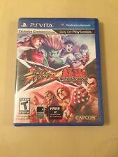 Street Fighter X Tekken (Sony PlayStation Vita, 2012), Brand New