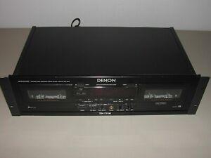 Denon DN-770R Precision Audio Component/Stereo Double cassette deck Tested