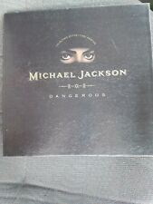 michael jackson dangerous collector's edition *first printing
