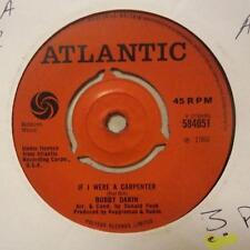 "Bobby Darin(7"" Vinyl 1st Issue)If I Were A Carpenter / Rainin' -UK-Ex/VG"