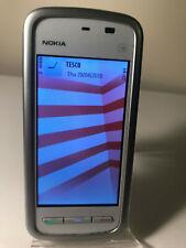 Nokia 5230 - White-Dark Silver (Unlocked) Smartphone Mobile