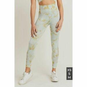 MonoB Tie Dye Seamless Highwaist Leggings XS