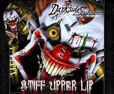 SUZUKI LTZ400 Z400 2009-2016 WRAP DECAL GRAPHIC SET KIT 'STIFF UPPER LIP' 2015