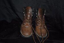 Justin boots brand Basics size 5 1/2 B brown ladies roper boots JBL 401