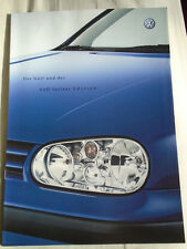 VW Golf & Golf Variant Edition brochure Mar 2001 German text