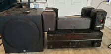 Yamaha Yht-3920Ubl complete 5.1 home theater in a box. Comes with remote.