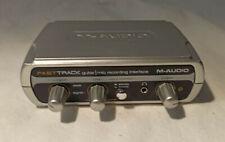 M-Audio FastTrack Guitar Mic Digital Recording Interface USB