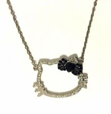 "Hello Kitty Crystal Pendant Necklace 18"" - 20""  Zippidy Kids"