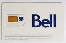 Bell Dual Micro Regular LTE Sim Card