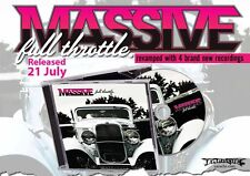 "Massive ""Full Throttle"" CD - NEW! W/ 4 Bonus Tracks, AC/DC + Aerosmith covers"