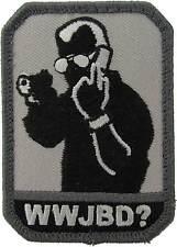 WWJBD (Jack Bauer) Morale Patch-SWAT (Black)