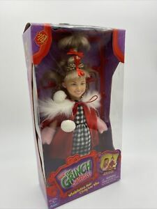 Dr. Seuss How The Grinch Stole Christmas Cindy Lou WhoWhobilation Hair Doll New