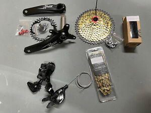 ZTTO 1x11 MTB XC Groupset 11-46T Gold Cassette Chain 11 Speed SRAM Shimano