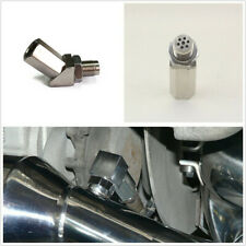 45° Car SUV O2 Oxygen Sensor Spacer Engine Light Check Bung Catalytic Converter
