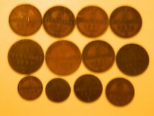 PRUSSIA 1839-1871 12-COINS CATALOG VALUE $107 FREE FAST SHIP!!!  L@@K!!!!!