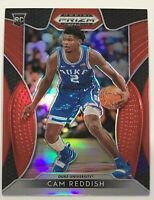 Cam Reddish 2019-20 Panini Prizm Draft Picks Red Prizm RC Rookie Card Home