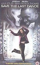 SAVE THE LAST DANCE VHS PAL JULIA STILES,SEAN PATRICK THOMAS,TERRY KINNEY NEW