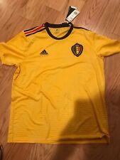 Adidas Belgium Away Shirt Eden Hazard XL 2018 FIFA World Cup BNWT MSRP $90