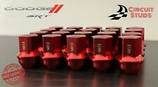 DODGE CHARGER SRT8 20PCS OEM REPLACEMENT RED LUG NUT FITS ALL (2006-2019)