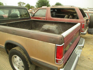 REAR 6 FT BED CHEVY S10 PICK UP 86 87 88 89 90 91 92 93 94