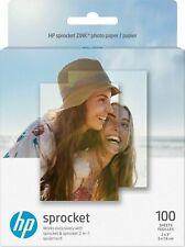 "HP Sprocket Zink Photo Paper 2"" x 3"", 100 sheets - Sticky-backed"