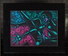 Dance Series II Larry Poncho Brown African American Art Oil Pastel on Board