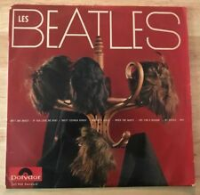 "RARE ORIGINAL 1st FRENCH LP 10"" THE BEATLES ""THE WIGS"" ON POLYDOR"