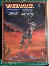 Neues AngebotWarhammer Fantasy Dark Elves Dunkelelfen Dreadlord Sorceress on Black Dragon New