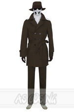 Watchman Watchmen Rorschach Cosplay Costume Halloween Cosplay Outfit Custom-Made