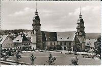 """Ansichtskarte Freudenstadt im Schwarzwald """"Evang. Stadtkirche"""" - schwarz/weiß"""