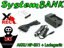 Ladegerät + Akku für NP-BX1 SONY ACTION CAM HDR-AS10 HDR-AS15 HDR-AS20 HDR-AS30V