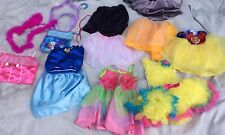 PRINCESS DRESS UP Mix Disney Pretend Costume Lot Girls Sz  2t 3t Gown