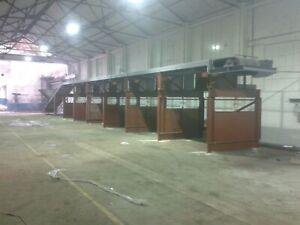 Picking Conveyor Skip Waste Sorting Trommel Screen