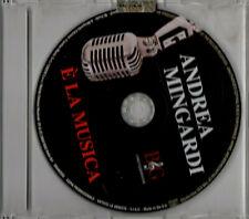 ANDREA MINGARDI é la musica CD singolo BG0405SG PROMO
