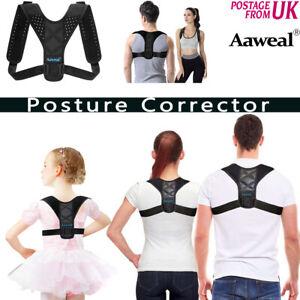 Posture Corrector Wellness Brace Body Back Support Lumbar Shoulder Support Belt