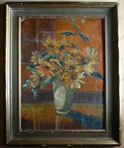 RUTH EMERSON LISTED EARLY OLD CALIF CALIFORNIA IMPRESSIONIST COLORIST RARE OIL