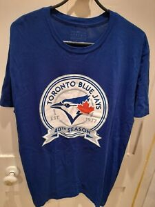Toronto Blue Jays 40th Season Genuine Merchandise Baseball T Shirt- XL PTP: 24""