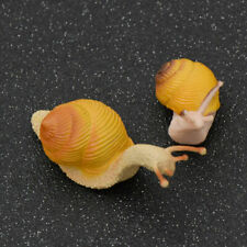 Snail Fairy Garden Miniature Artificial Moss Micro Landscape Room Table Ornament