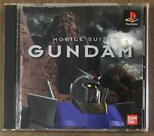 Mobile Suit Gundam - PS Playstation PS1 - JAPAN