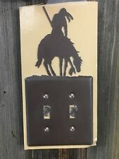 Indian Light Switch Cover Plate Lazart End of the Trail Collector Switchplate