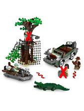 LEGO Indiana Jones River Chase 7625 Missing 2 Minifigures