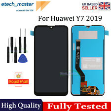 For Huawei Y7 2019 LCD Black Touch Screen Digitizer Full Assembly Replacement UK