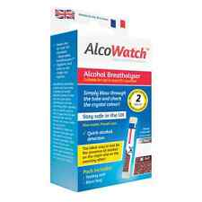 AlcoWatch Singles NF Alcohol Breathalyser Tester - UK & France Legal French OTL