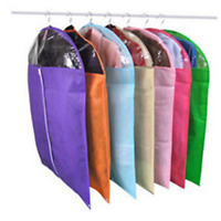 Clothes Garment Suit Dress Shirt Dust Cover Bag Dustproof Storage Coat Protector