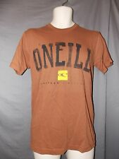 mens O'Neill yale surfer t-shirt S nwt brown