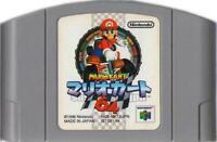 Mario Kart 64 NINTENDO 64 N64 JAPAN JAPANESE GAME