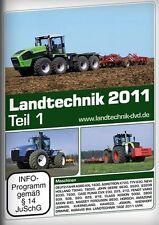 DVD - LANDTECHNIK 2011 Teil 1    Trecker Landwirtschaft Traktor NEU & OVP
