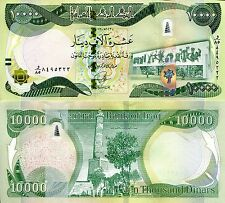 IRAQ 10000 Dinar Banknote World Paper Money UNC Currency Pick p-101 Post Saddam